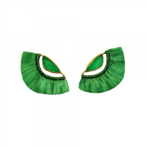 Butterfly Tassel Earrings Mini, ${color}