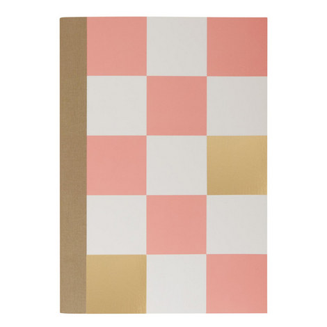 Checkered Notebook, ${color}