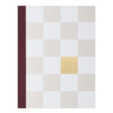 Checkered Notebook, ${color}