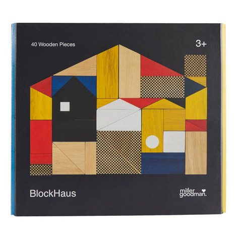 Block Haus Wooden Shapes, ${color}