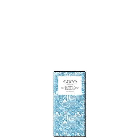 Hazelnut and Sea Salt Milk Chocolate 80g, ${color}