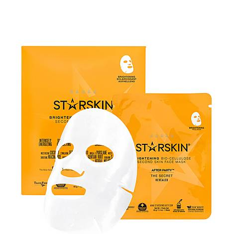 After Party™ Coconut Bio-Cellulose Second Skin Brightening Face Mask, ${color}