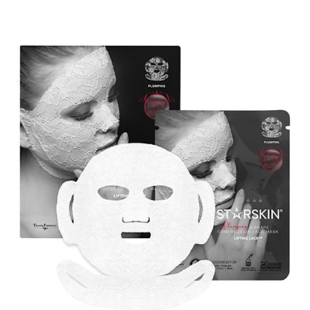 Lifting Lace Plumping V-Shape Compression Mask, ${color}
