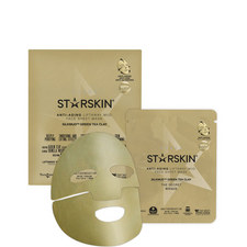 SILKMUD™ Green Tea Clay Anti-Aging Liftaway Mud Face Sheet Mask