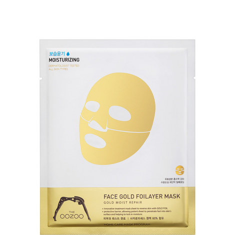 Face Gold Foilayer Mask, ${color}
