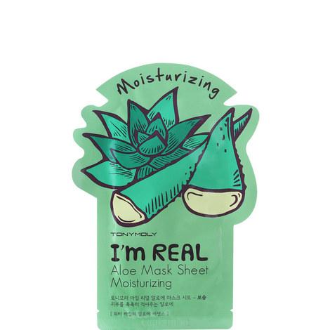 I Am Real Aloe Mask Sheet, ${color}
