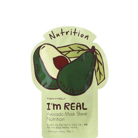 I Am Real Avocado Sheet, ${color}