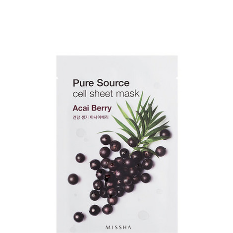 Pure Source Cell Mask Sheet Acai, ${color}