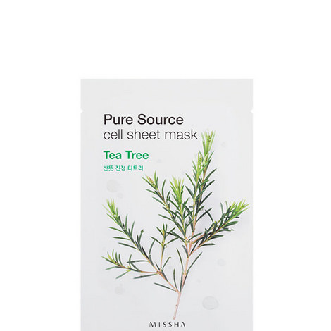 Pure Source Cell Mask Sheet TeaTree, ${color}