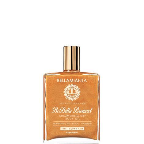 Be-Bella Bronzed Dry Shimmering Oil, ${color}