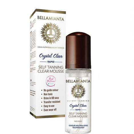 Crystal Clear Rapid Self-Tanning Mousse, ${color}