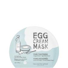 Egg Cream Pore Tightening Mask
