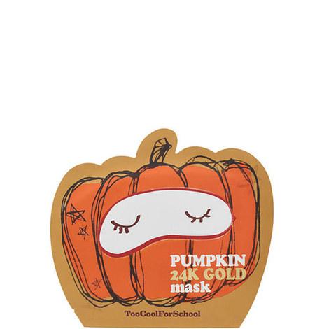 Pumpkin 24K Gold Sheet Mask, ${color}