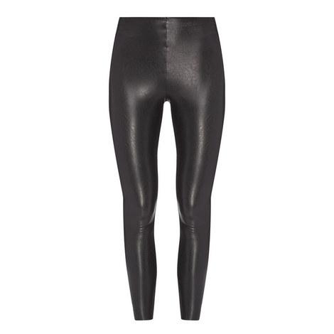 Conman Faux Leather Leggings, ${color}