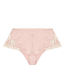 Embroidered Detail Briefs