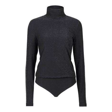 Silver Dust String Bodysuit, ${color}