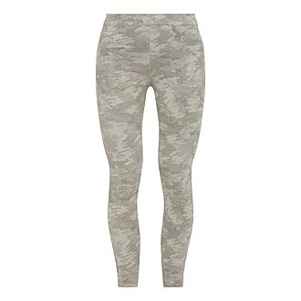 Camouflage Jean-ish Ankle Leggings
