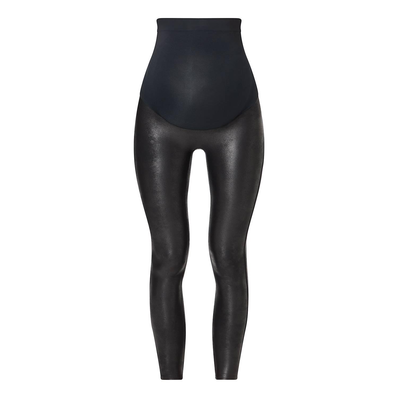9fa360607d41a ... Mama Faux Leather Leggings , ${color}