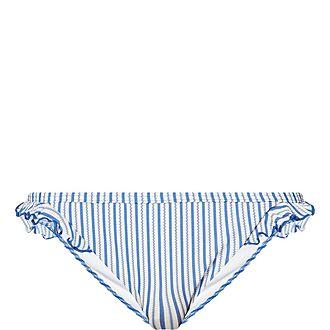 Seersucker Stripe Bikini Briefs