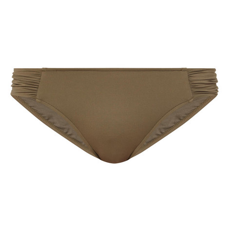 Ruched Side Bikini Bottoms, ${color}