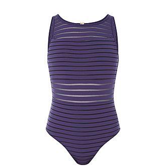 Parallels Swim Suit