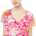 Floral Print Kaftan, ${color}