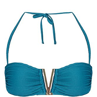 Ubud V Bandeau Bikini Top