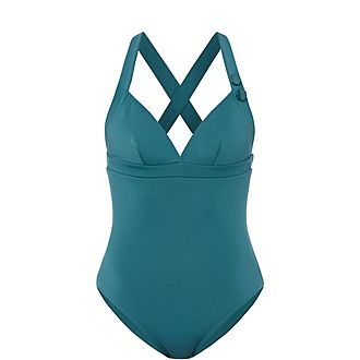 Elea Crossed Strap Swimsuit