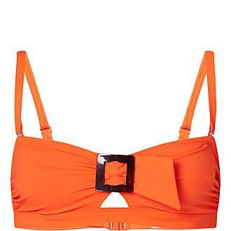 Loulou Bandeau Bikini Top