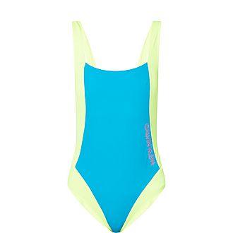 Colour Block Swimsuit