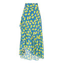 Leo Cover-Up Silk Skirt, ${color}