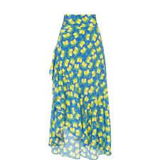 Leo Cover-Up Silk Skirt