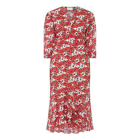 Noleen Floral Dress, ${color}