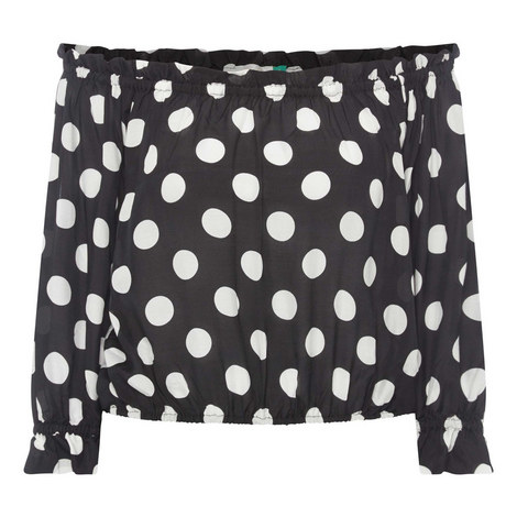 Kerry Polka Dot Top, ${color}