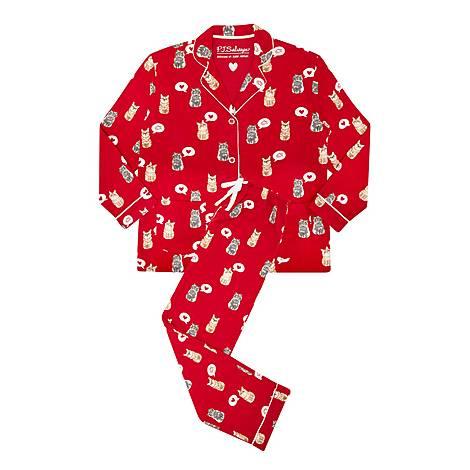 Meow & Fever Pyjama Set, ${color}