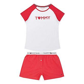 Raglan Boxer Pyjama Set