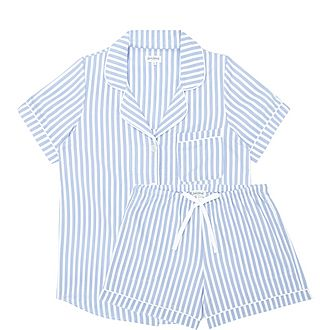 Stripe Shorty Pyjama Set