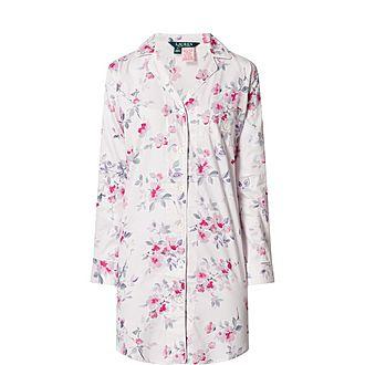 Floral Night Shirt