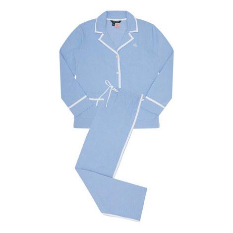 Twill Knit Pyjamas, ${color}