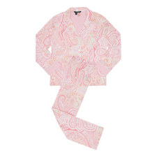 Paisley Classic Woven Pyjama Set