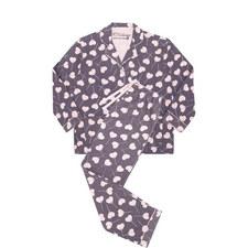 Love is Sweet Flannel Pyjama Set