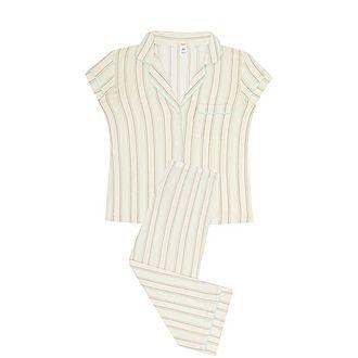 Summer Stripes Pyjama Set
