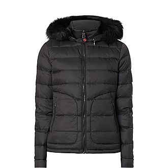 Padded Down-Filled Jacket