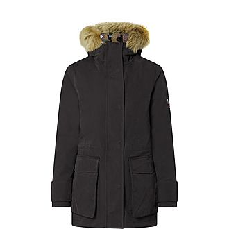 Camouflage Lined Coat