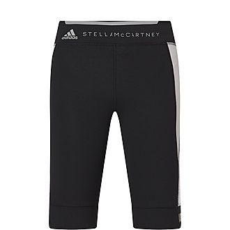 Run Over Knee Tight Shorts
