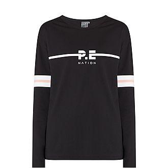 Lineal Long Sleeve Sweatshirt