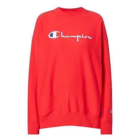 Big Script Sweatshirt, ${color}
