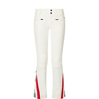 Chevron Flared Trousers