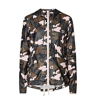 Forest Ash Cameo Rain Jacket