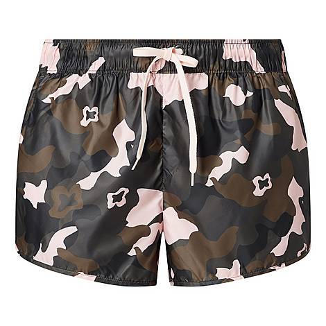 Forest Camouflage Run Shorts, ${color}